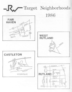 1986 Target Neighborhoods