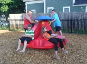 Baxter Street Park - Playground