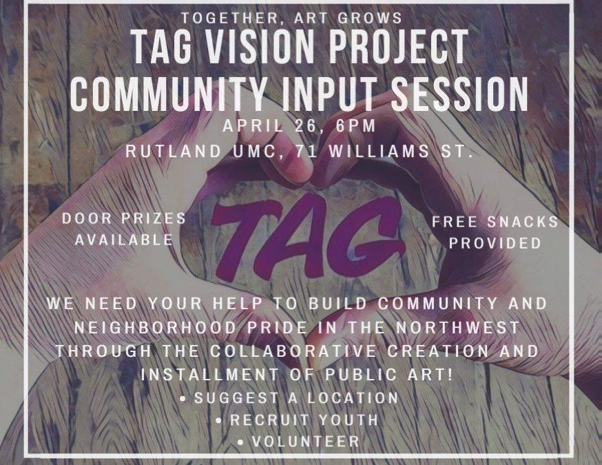 TAG Community Input Session Presentation