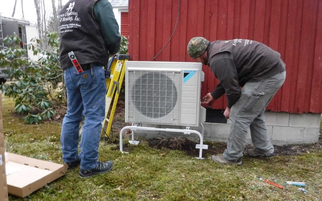 Installing Heat Pumps: Picture by Picture